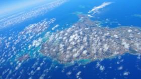 雲がなければ良かったけど^^; 宮古島です。